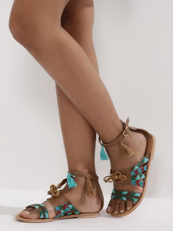 5 strappy sandals