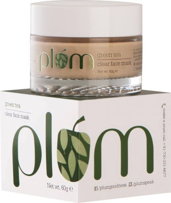 13 skincare products - plum face mask