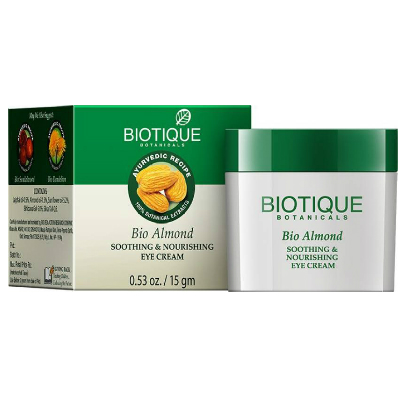 5 skincare products - biotique eye cream