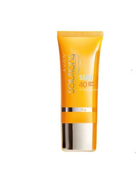 3 skincare products - sunscreen avon