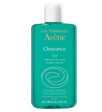 6 skincare products - avene cleanance gel