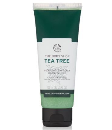 7 skincare products - tea tree