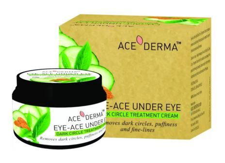 8 skincare products - under eye cream