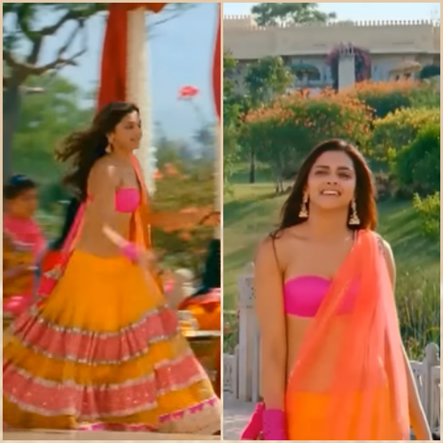 6 bollywood lehengas