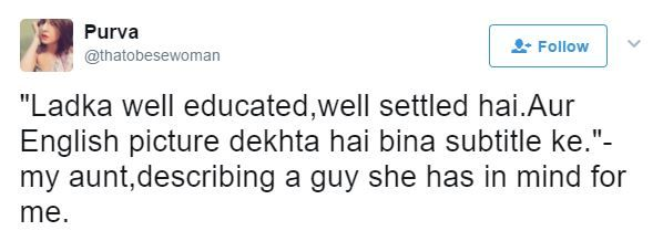 1 desi girl funny tweets