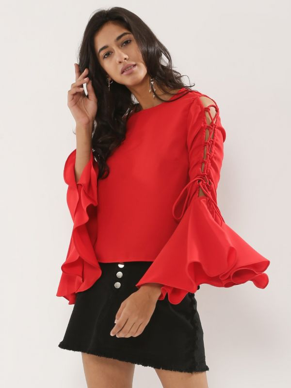 14.tops with fancy sleeves