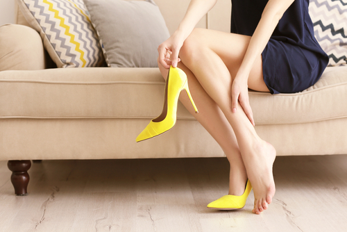 4 things to not do when you wear heels
