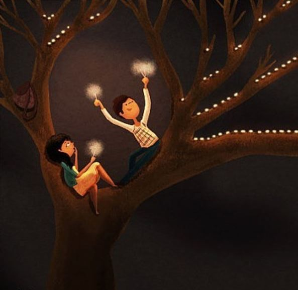 6 illustrations by nidhi chanani
