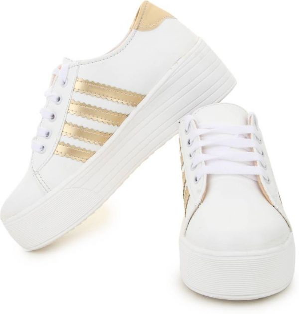 4.white sneakers