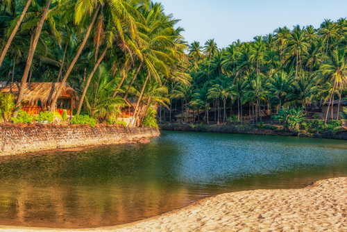 10 budget places in goa
