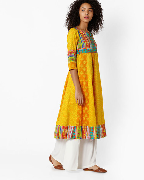 9 dos and donts of wearing ethnic wear yellow printed kurta