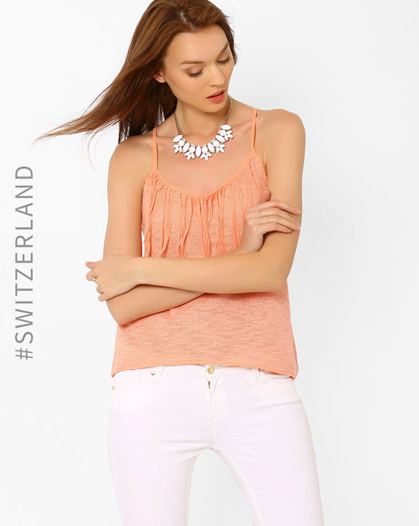 neutral undertone 1- what colours suit your skin tone - Tally Weijl - peach top