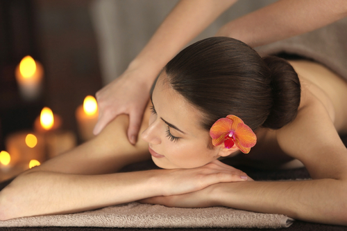 7 glowing skin - woman massage