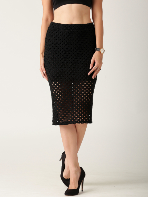 12 fashion essentials for college girls Black Pencil Skirt