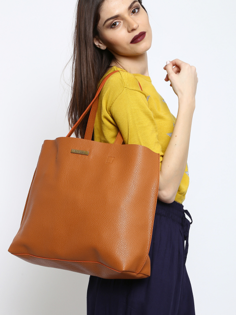 3 fashion essentials for college girls Tan Brown Tote Bag