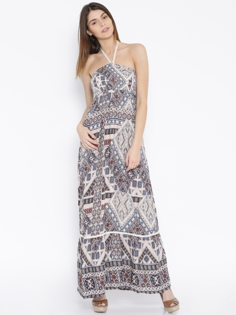 14 dresses for your honeymoon-multicoloured printed maxi dress