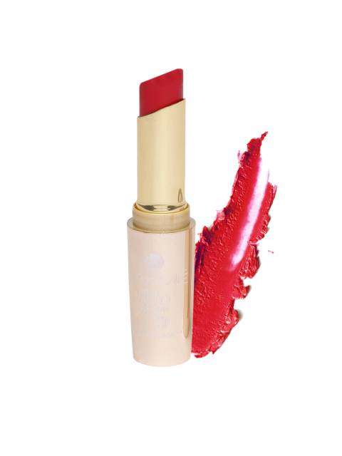 1 beauty products to carry - Lakme 9 to 5 Crease-Less Red Letter Lip Colour MR9
