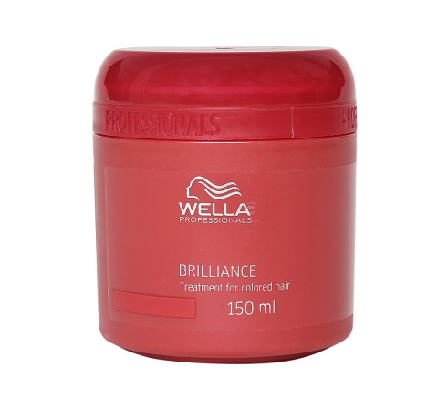 12 hair colour products -  Wella Professionals Brilliance Hair Mask