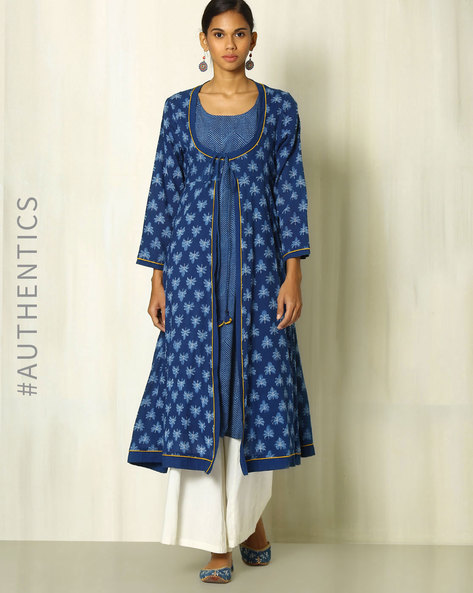 summer outfits 10 blue kurta