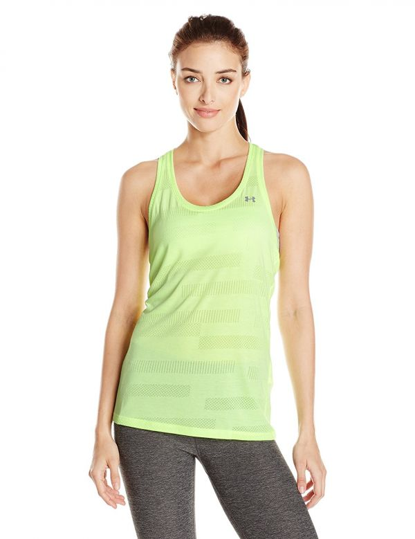 2 workout outfits green tank top