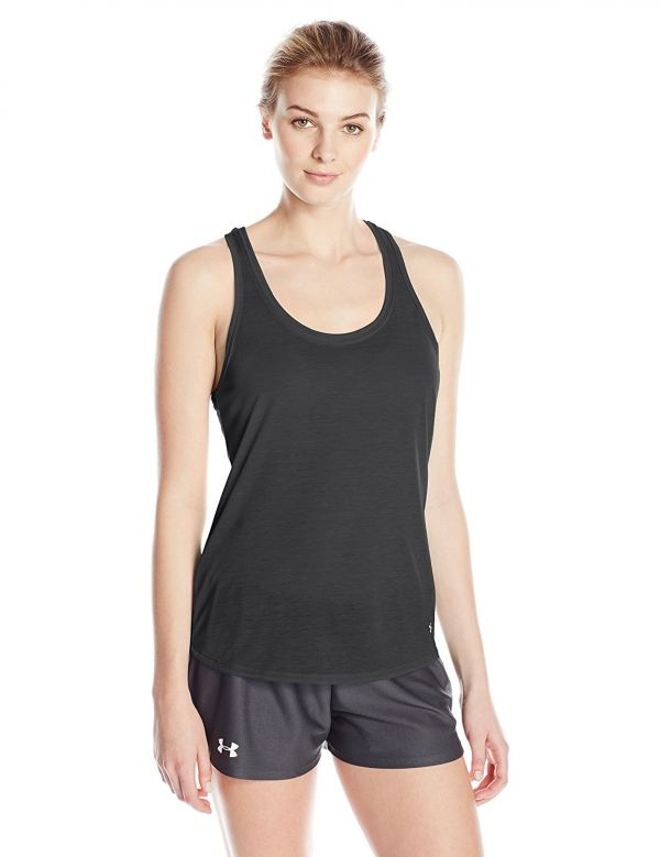 6 workout outfits black tank top