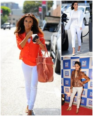 Celebs Who Rocked White Pants + Where To Buy Awesome White Pants