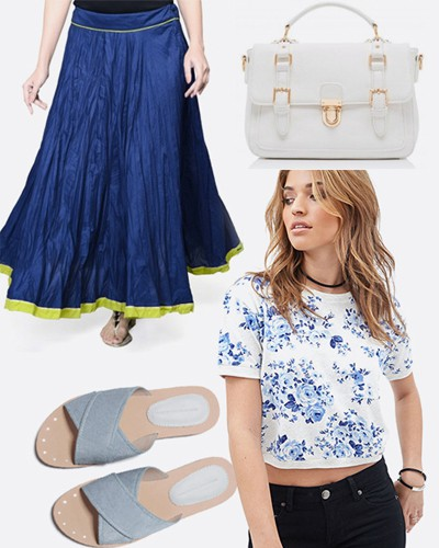 Bored of Your Jeans & Tee? 5 Fusion Looks To Mix It Up In College