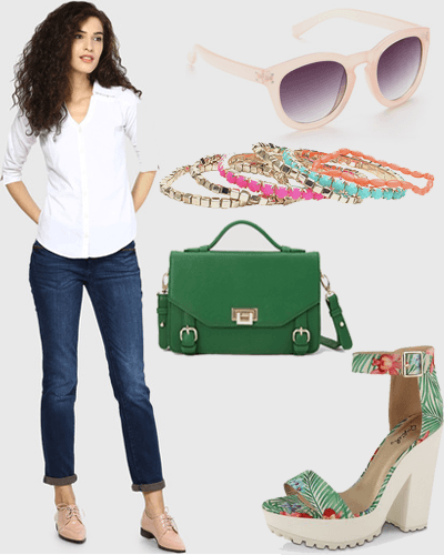 Byebye, Boring! 5 NEW Ways To Style Your Jeans & White Shirt