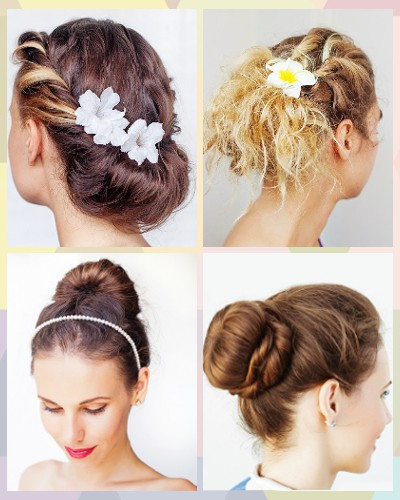 5 Easy Updos That Look SO Fancy! (And No Hair Dryer Needed!)