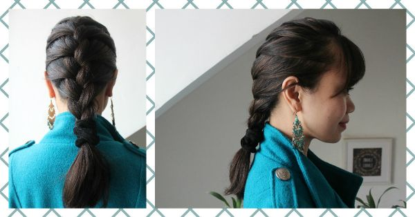 Tuesday Tutorial: 4 Simple Steps For The Classic French Braid!