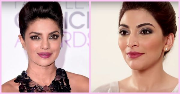 How To Get Priyanka's AMAZING Red Carpet Makeup Look At Home!
