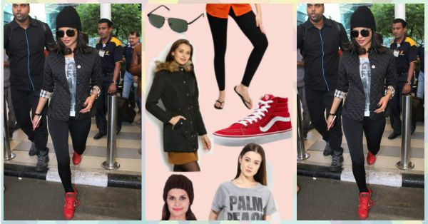 Steal Priyanka's Fun & Sporty Look For This In-Between Weather!