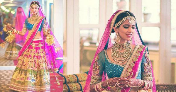 Gorgeous Bridal Lehengas For The Girl Who Loves Pink!