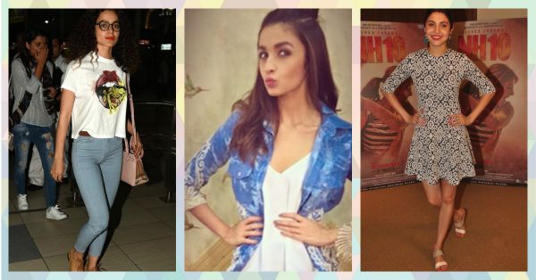 #CollegeGirl: Fab Styling Ideas From Our FAV Bollywood Stars!