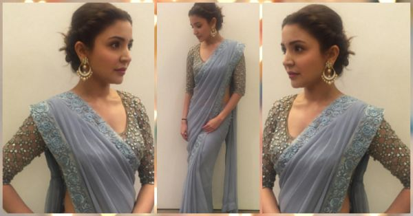 How To Steal Anushka's Beautiful Sari Style For Your Farewell!