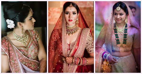 These 7 Brides Wore The Most Stunning Necklaces!