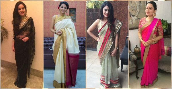 How To Style Your Saree For Maximum Glam? Team POPxo Shows You!