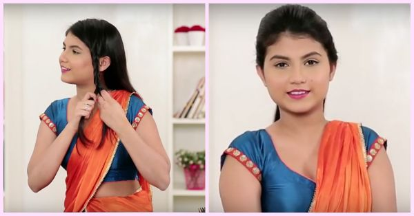 2 Easy Hairstyles To WOW Everyone At The Next Shaadi!