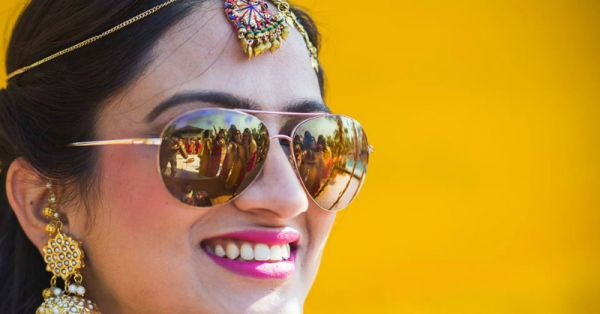 #POPxoBrides: We Love These Brides' Sunglass Style!