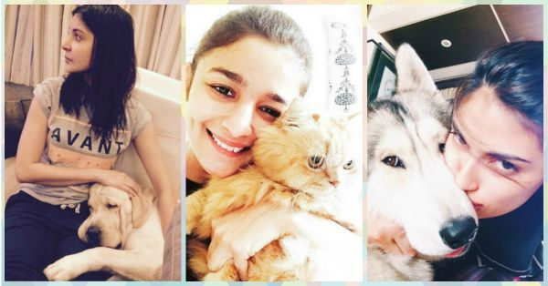 Our FAV Bollywood Stars With Their Totally Adorable Pets!