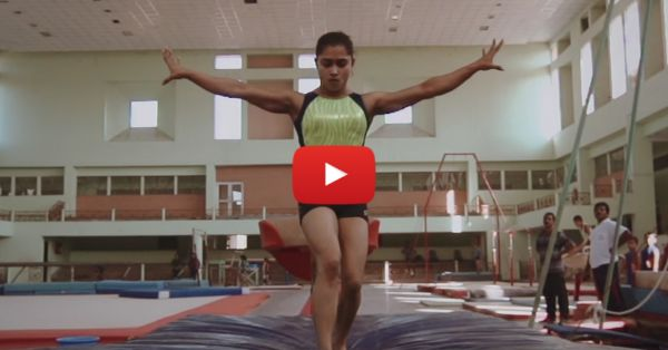 """""""To Achieve Something, You Need To Take A Risk"""" - Dipa Karmakar"""