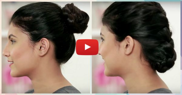 3 Different Ways To Make A Perfect Bun - In Less Than 3 Minutes!