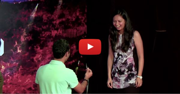 This Proposal Might Make You Cry And Laugh At The Same Time!