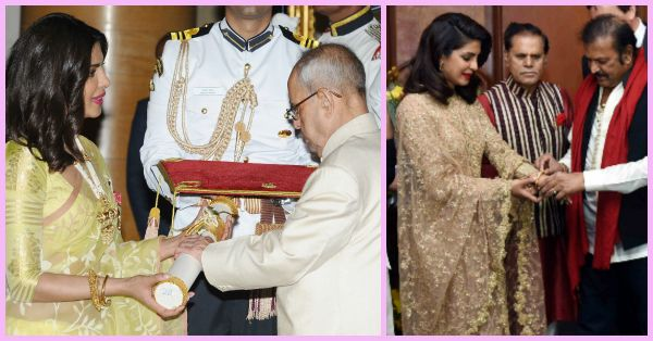 PC Just Recieved The Padma Shri - Here's How She Celebrated!!
