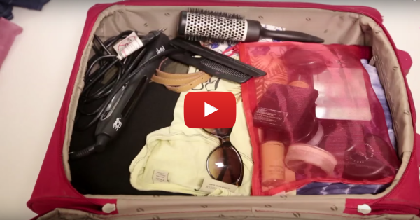 "Girls vs Guys: What ""Packing For A Weekend"" Is Actually Like!"