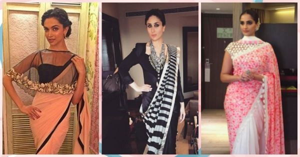 7 Ways To Style A Saree - Like Your Fav Bollywood Stars!