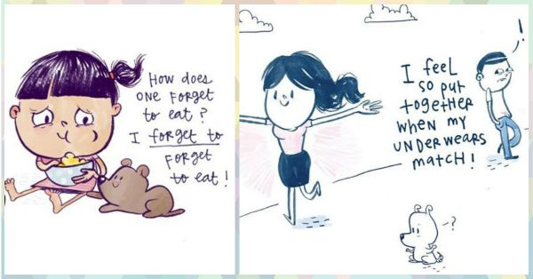 Super Cute Doodles That Sum Up How EVERY Girl Feels About Life!