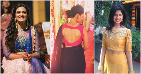 Pretty Blouses To Inspire Your Desi Style - Team POPxo's Favs!