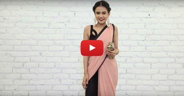 How To Wear That Glamorous Pants-Style Saree - It's THIS Easy!