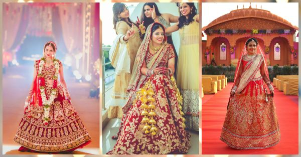 7 Red Lehengas Every Soon-to-be-Bride Will Fall in Love With!
